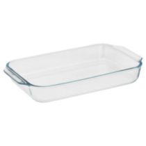 Pyrex® Basics™ 3qt/2.8L Oblong Glass Baking Dish