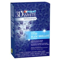 Ensemble de blanchiment des dents Whitestrips Blanc brillant de Crest 3D White