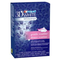 Crest 3D White Gentle Routine Whitestrips Dental Whitening Kit