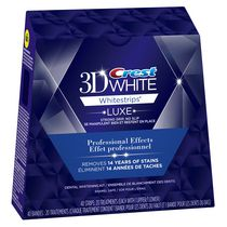 Ensemble de blanchiment des dents Effet professionel Whitestrips Blanc brillant de Crest 3D White
