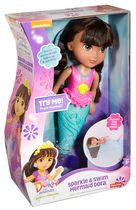 Fisher-Price Nickelodeon Dora and Friends Sparkle & Swim Mermaid Dora