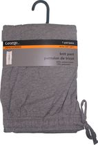 George Jersey Lounge Knit Pant Grey S