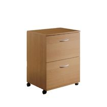 Nexera Essentials 2-Drawer Mobile File Cabinet #5093