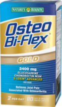 Osteo Bi-Flex Gold 2400 mg 5-LOXIN® ADVANCED 80's