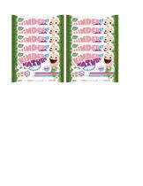 Jackson Reece Unscented Baby Wipes - 10 packs