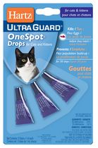 Hartz UltraGuard One Spot Drops for Cats and Kittens
