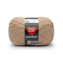 Red Heart Comfort Yarn Basic Shades Tan