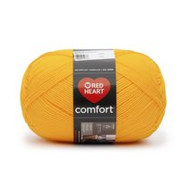 Red Heart Comfort Yarn Solid Shades Yellow