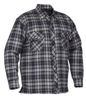 Forcefield Quilted Flannel Shirt Medium