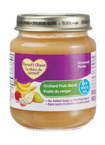 Parent's Choice Strained Orchard Fruit Bleand, 6 months +