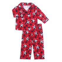 Disney Boys' Mickey Fleece 2-Piece Pyjama Set 12-18 months