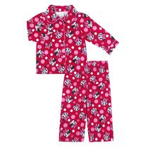 Disney Girls' Minnie Fleece 2-Piece Pyjama Set 18-24 months
