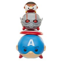 Marvel Tsum Tsum Wave 1 Captain America/Antman/Falcon 3 Pack Action Figures