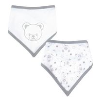 George Unisex Reversable Baby Bear Bib