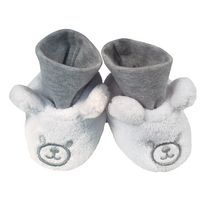 George Infant Plush Booties
