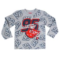 Disney Cars Toddler Boys' Long Sleeved Top 3T