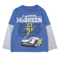 Disney Cars Boys' Fooler Top 4T