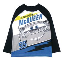 Disney Cars Boys' Basbell Long Sleeve Tee 4T