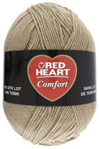 Red Heart Comfort Yarn Solid Shades Putty