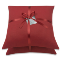 2 Pack Basic Cushion Red