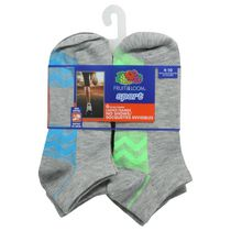 Socquettes de sport invisibles pour dames de Fruit of the Loom, 6 paires