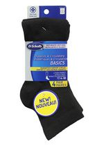Dr.Scholl's Women's Diabetes and Circulatory Ankle Socks, 4 Pairs
