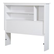 South Shore Vito Collection Twin Size Bookcase Headboard White