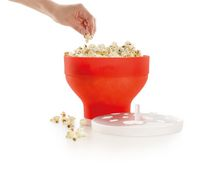 Lékué Microwave Popcorn Maker Red