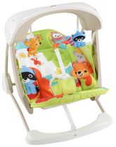 Fisher-Price Woodland Friends Take-Along Swing & Seat