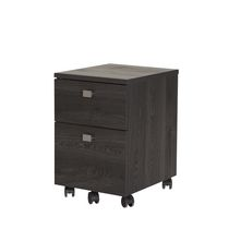 South Shore Interface 2-Drawer Mobile File Cabinet Grey