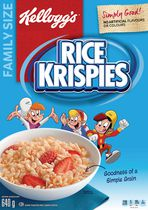 Kellogg's Rice Krispies Cereal - Original - 640g (Family Size)