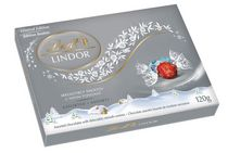Lindt Lindor Irresistibly Smooth Assorted Chocolates Holiday Box