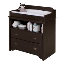 South Shore Fundy Tide Changing Table Espresso