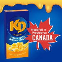Kraft Three Cheese Macaroni and Cheese
