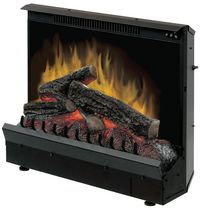 "23"" Black Electric Fireplace Insert"