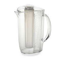 Prodyne Clear Acrylic Iced fruit Infusion Pitcher