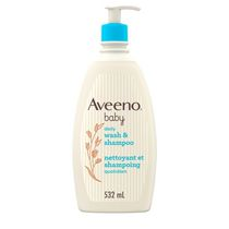 AVEENO® Baby Lightly Scented Natural Oat Formula Wash & Shampoo