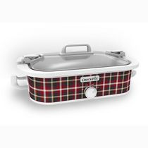 Crock-Pot 3.5 Qt. Casserole Crock Slow Cooker Tartan Plaid