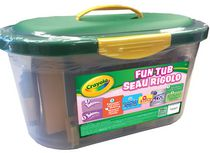 Crayola Girls' Fun Art Tub