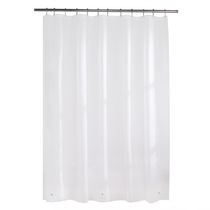 Mainstays 3 Gauge PEVA Shower Liner White