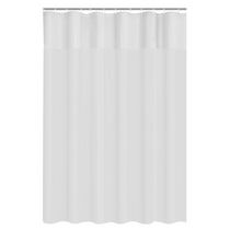Mainstays Clear View PEVA Shower Liner Frosted