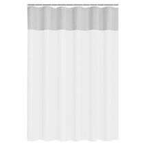 Mainstays Clear View PEVA Shower Liner White