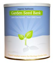 Non-GMO Organic Heirloom Seed Bank