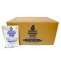 Datrex Emergency Drinking Water Sachet - Case of 64