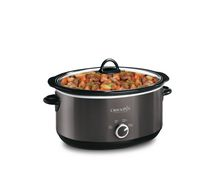 Crock-Pot 6 QT Manual Slow Cooker Black