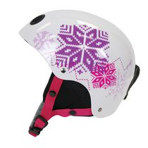 Pacific Girls Child 5+ Winter Protective Helmet, White