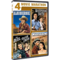 4 Movie Marathon: Classic Western Collection - Albuquerque / Whispering Smith / Duel at Silver Creek / War Arrow