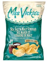 Miss Vickie's® Sea Salt & Malt Vinegar Kettle Cooked Potato Chips