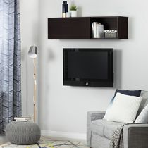 South Shore City Life Wall Mounted Storage Unit Chocolate