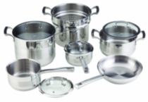 Paderno Pro-Elite Cookware Set, 10 Piece